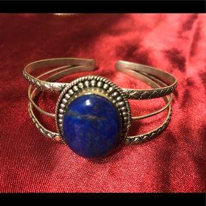 Jewelry - 🔆 Lapis Lazuli silver cuff bracelet